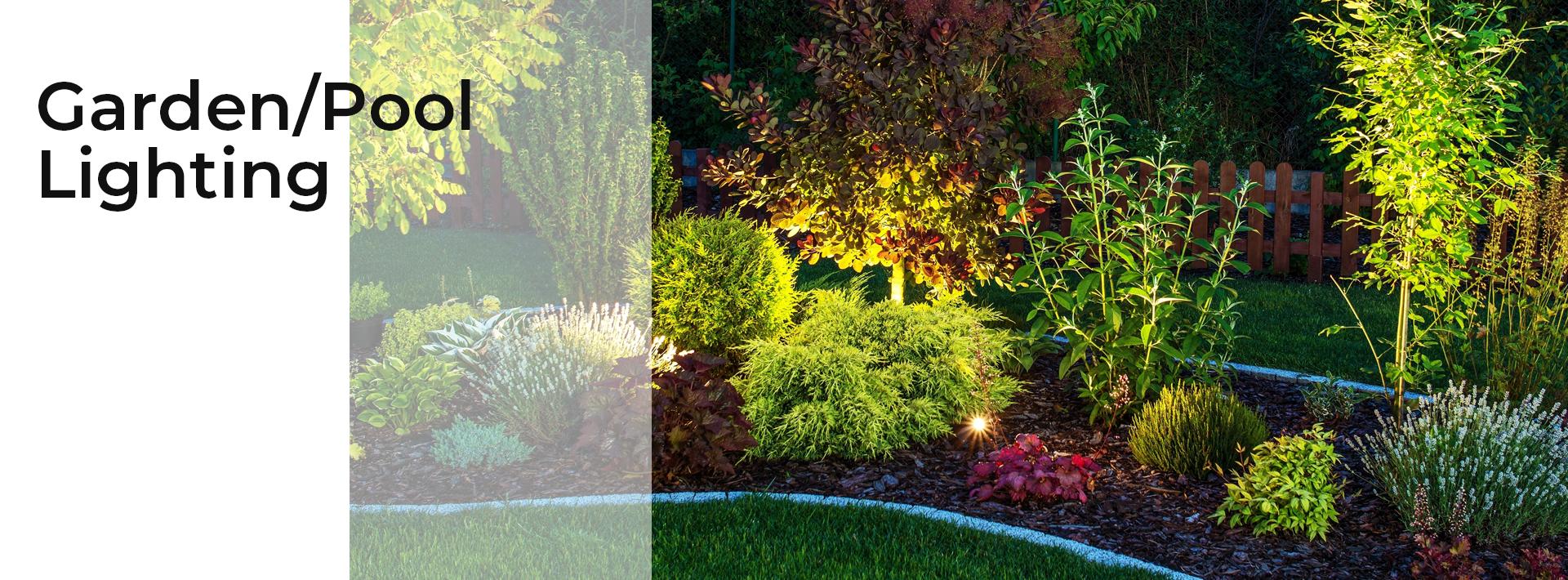 LED Garden / Pool Lights