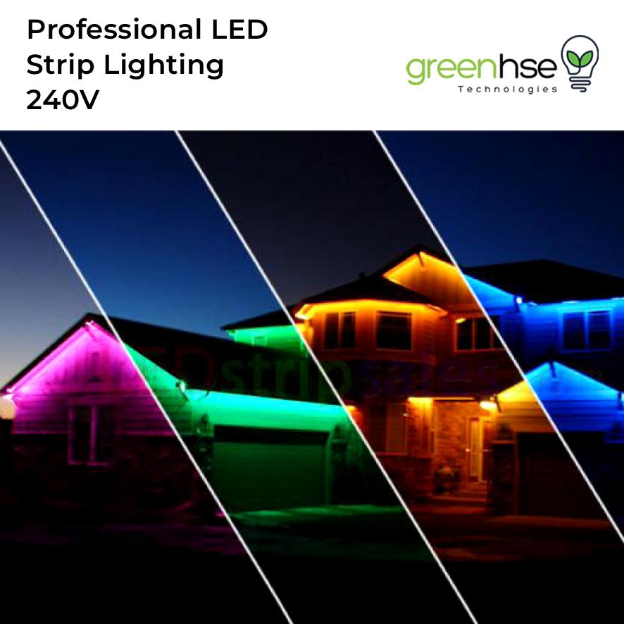 High Voltage 240V Strip Lighting